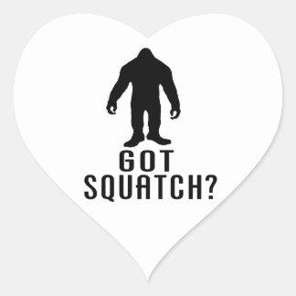 Got Squatch Heart Sticker