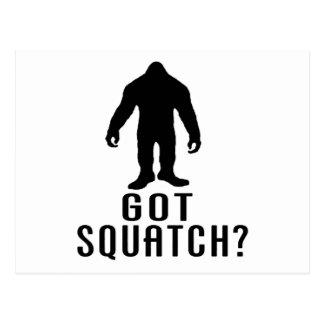 Got Squatch Post Card