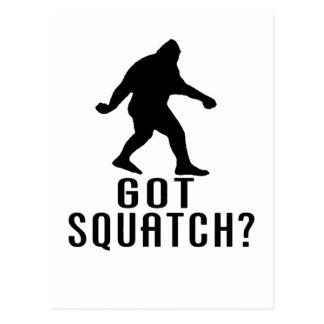 Got Squatch Postcard