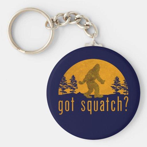 Got Squatch? Vintage Basic Round Button Keychain