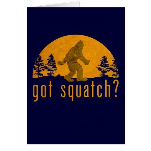 Got Squatch? Vintage Cards