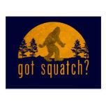 Got Squatch? Vintage Post Card
