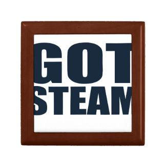 Got Steam Steam Locomotives Jewelry Box