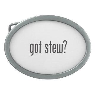 got stew oval belt buckle