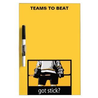 Got Stick? Dry Erase Board