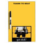 Got Stick? Dry Erase Whiteboards
