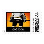 Got Stick? Hockey Stamp