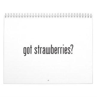 got strawberries calendar