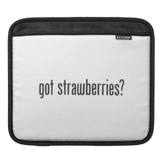 got strawberries sleeves for iPads