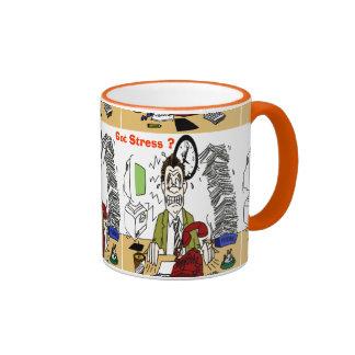 Got Stress ? Ringer Coffee Mug
