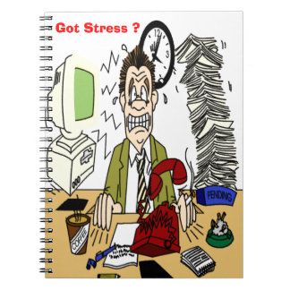 Got Stress ? Photo Notebook (80 Pages B&W) Note Book