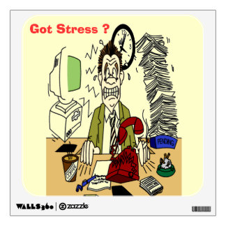 Got Stress ? Square Wall Decal