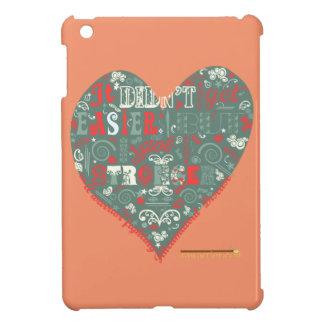 Got stronger heart iPad mini case