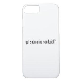 got submarine sandwich iPhone 7 case