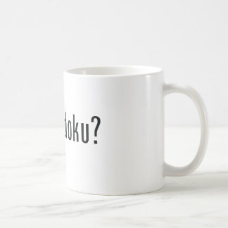 got sudoku? coffee mug