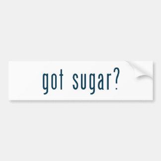 got sugar bumper sticker