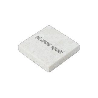 got summer squash stone magnet