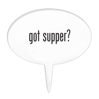 got supper cake toppers