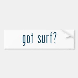got surf bumper sticker
