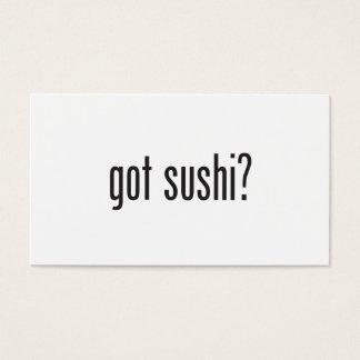 got sushi business card