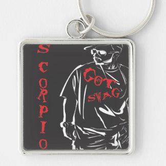 Got swag scorpio red keychain