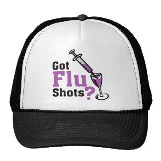 Got sWine Flu shots ? Trucker Hat