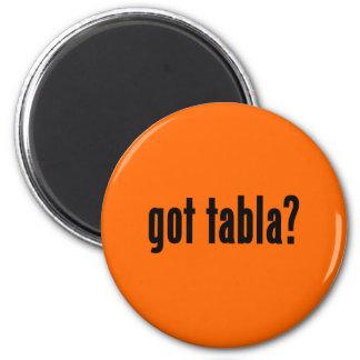 got tabla? 2 inch round magnet