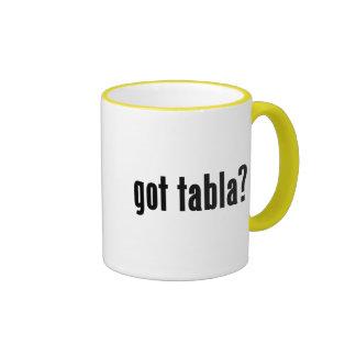 got tabla? ringer coffee mug