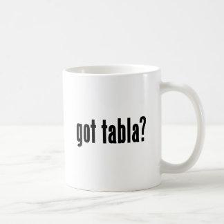 got tabla? classic white coffee mug