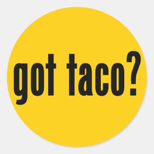 got taco? stickers