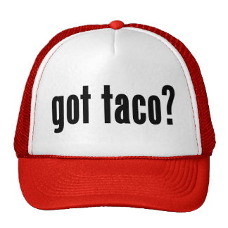 got taco? trucker hat