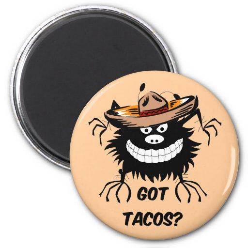 got tacos 2 inch round magnet