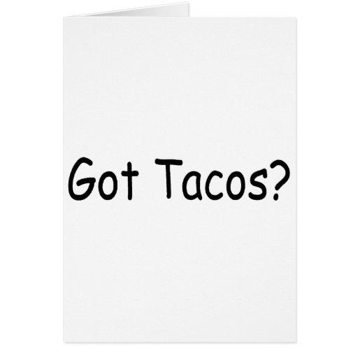 Got Tacos Cards