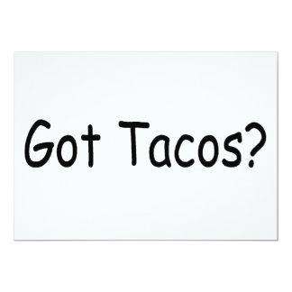 Got Tacos Custom Announcements