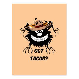 got tacos postcard