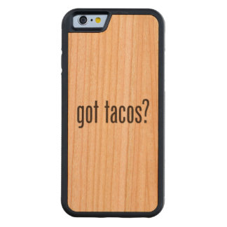 got tacos carved® cherry iPhone 6 bumper case