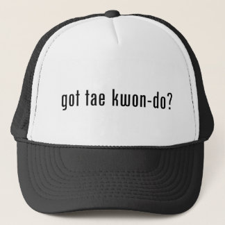 got tae kwon do? trucker hat