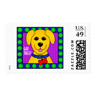 Got Tags?-Dog Stamps
