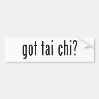got tai chi? bumper sticker