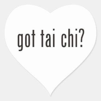 got tai chi? heart sticker