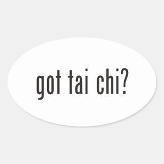 got tai chi? oval sticker