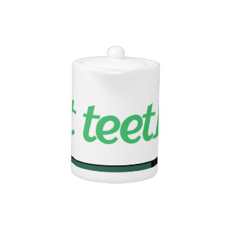 Got Teeth Teapot