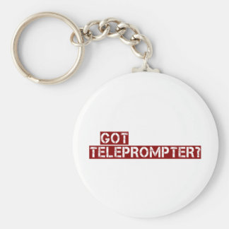 got teleprompter keychain