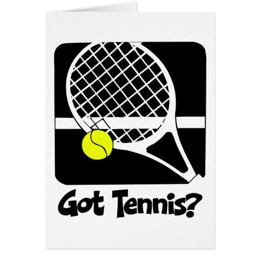 Got Tennis Card
