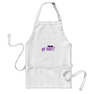 Got Tenors (purple) Adult Apron