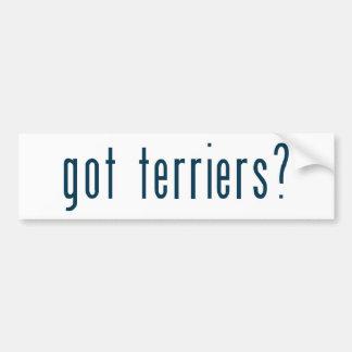 got terriers bumper stickers