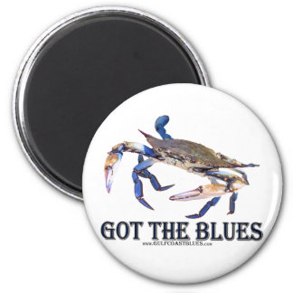 Got The Blues Refrigerator Magnets