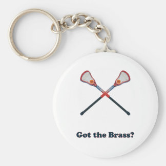 Got The Brass Lacrosse Keychains