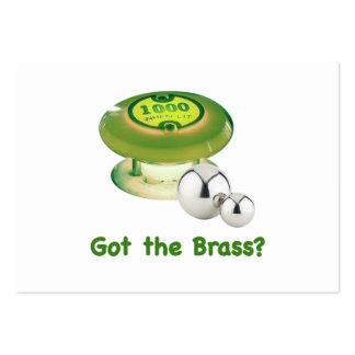 Got the Brass Pinball Business Cards