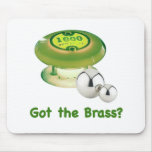 Got the Brass Pinball Mouse Mats